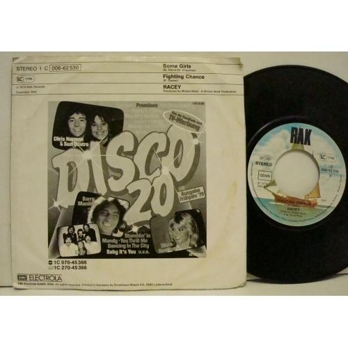 "Racey - Some Girls - Vinyl - 7"""