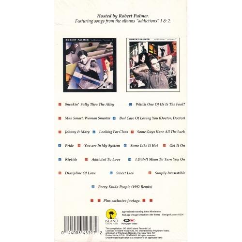 Robert Palmer - Video Addictions - VHS - VHS