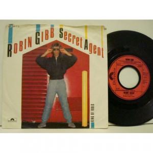 """Robin Gibb - Secret Agent  - Vinyl - 7"""""""