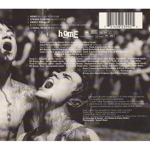 Sheryl Crow - Home  - CD - Single