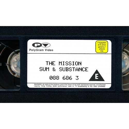 The Mission - Sum & Substance  - VHS - VHS