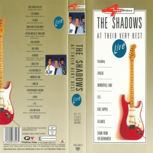 The Shadows - At Their Very Best Live - VHS - VHS