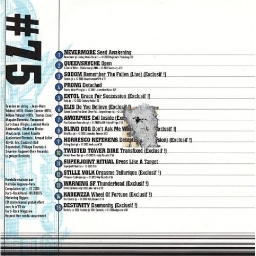 Various - Hard Rock N° 75  - CD - Compilation