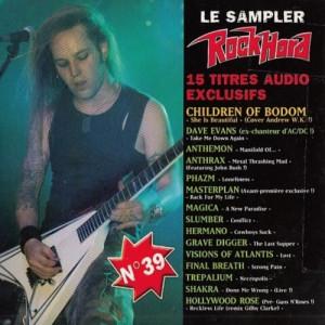 Various - Le Sampler RockHard N°39  - CD - Compilation