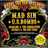 Various - Where The Bad Boys Rock Tour 2005 - CD, Comp, Promo