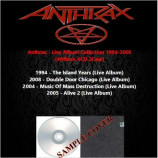 Anthrax - Live Album Collection 1994-2008