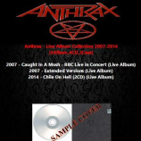 Anthrax - Live Album Collection 2007-2014