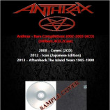 Anthrax - Rare Compilations 2008-2012