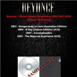 Beyonce - Album Deluxe Compilation 2003-2007