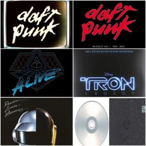 Daft Punk - Album Deluxe,Live & Remixes 2006-2013 - CD - 6CD