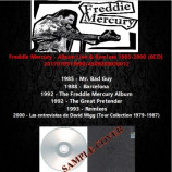 Freddie Mercury - Album Live & Remixes 1985-2000