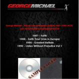 George Michael - Album Live & Greatest Ballads 1987-1990