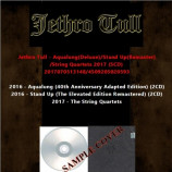 Jethro Tull - Aqualung(Deluxe)/Stand Up(Remaster)/String Quartets 2017