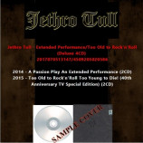 Jethro Tull - Extended Performance/Too Old to Rock'n'Roll (Deluxe 4CD)