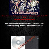 Michael Jackson - Motown Solo Collection & King Of Pop (Limited) 2009