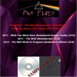 Pink Floyd - The Wall (Remastered)+Work In Progress+Bonus 2012
