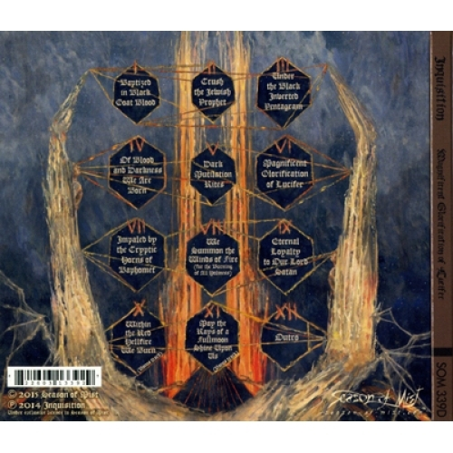 INQUISITION - Magnificent Glorification of Lucifer - CD - Digipack