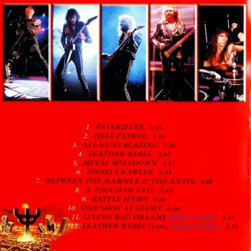 JUDAS PRIEST - Painkiller - CD - Album