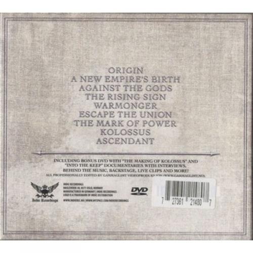 KEEP OF KALESSIN - Kolossus - CD - Digi CD + DVD