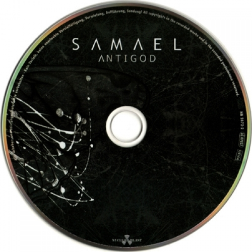 SAMAEL - Antigod - CD - CD EP
