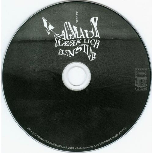 SLAGMAUR - Skrekk Lich Kunstler - CD - Digipack