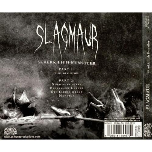 SLAGMAUR - Skrekk Lich Kunstler