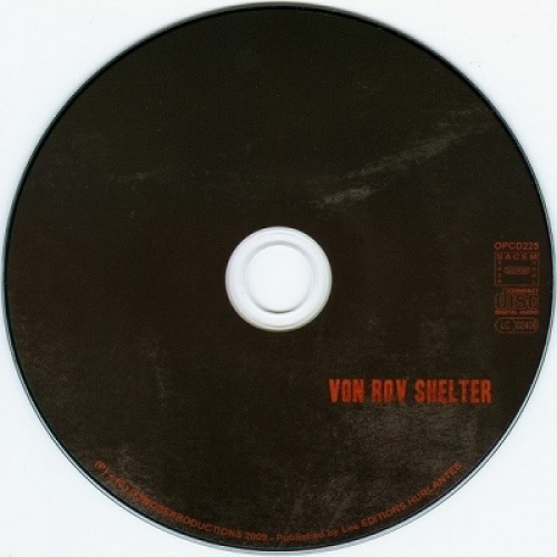 SLAGMAUR - Von Rov Shelter - CD - Digipack