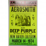 Aerosmith - New Haven - Concert Poster