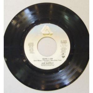 "Air Supply - Here I Am - 7 - Vinyl - 7"""