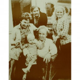 All In The Family - Cast - Sepia Print