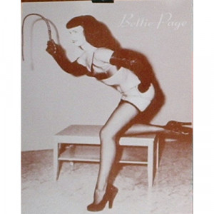 Bettie Page - Bondage Queen - Sepia Print - Books & Others - Others