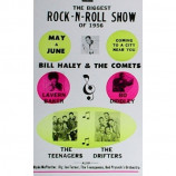 Biggest Rock & Roll Show - Biggest Rock & Roll Show - Concert Poster
