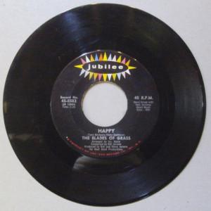 "Blades Of Grass - Happy - 7 - Vinyl - 7"""