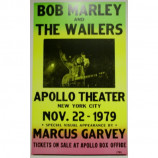 Bob Marley & The Wailers - Apollo Theater - Concert Poster