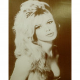 Bridgitte Bardot - Headshot - Sepia Print