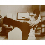 Bruce Lee - Side Kick - Sepia Print