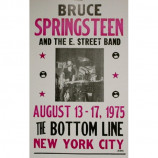 Bruce Springsteen - Bottom Line - Concert Poster