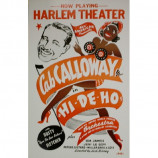 Cab Calloway - Harlem Theater - Concert Poster