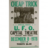 Cheap Trick - Capital Theatre - Concert Poster