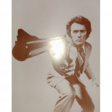 Clint Eastwood - Dirty Harry - Sepia Print