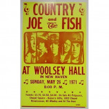 Country Joe & The Fish - Woolsey Hall - Concert Poster
