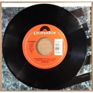 "Cream - Sunshine Of Your Love - 7 - Vinyl - 7"""