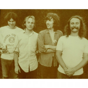 Crosby, Stills, Nash & Young - Group Shot - Sepia Print - Books & Others - Others