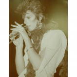 David Bowie - At The Microphone - Sepia Print