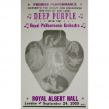 Deep Purple - Royal Albert Hall - Concert Poster