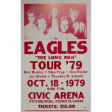 Eagles - 1979 Tour Civic Arena - Concert Poster