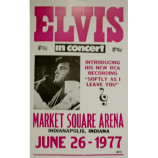 Elvis Presley - 1st Live Appearance In 8 Years - Concert Poster