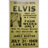 Elvis Presley - Civic Center - Concert Poster