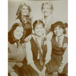 Facts Of Life - Cast - Sepia Print
