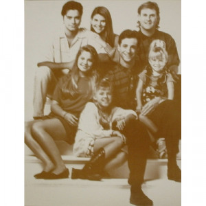Full House - Cast - Sepia Print - Books & Others - Others